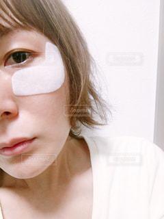 目もとパックの写真・画像素材[1158726]