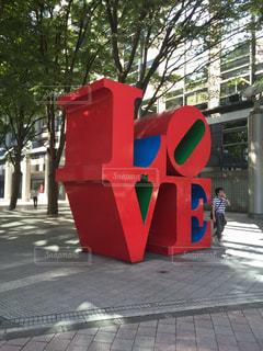 新宿LOVEオブジェの写真・画像素材[1152204]