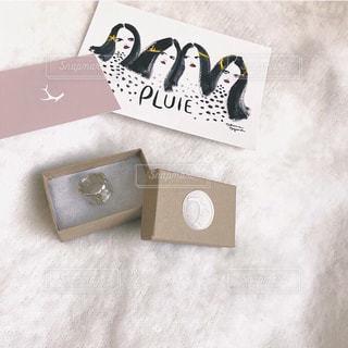 PLUIEの指輪の写真・画像素材[1152252]