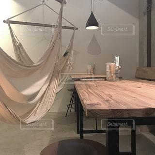 ハンモックカフェの写真・画像素材[1152255]