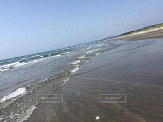 鹿児島の美しい海の写真・画像素材[1183673]