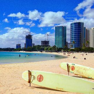 浜辺のビーチatハワイの写真・画像素材[1153327]