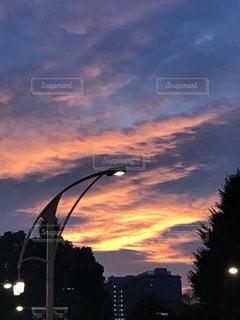 いつかの綺麗な夕焼け空の写真・画像素材[1154391]