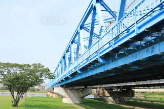 長い陸橋の写真・画像素材[1160578]