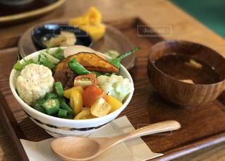野菜たっぷりランチの写真・画像素材[1166392]