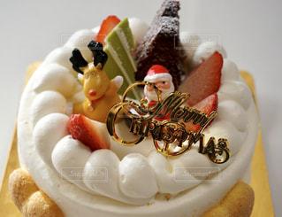 クリスマスケーキの写真・画像素材[1268321]