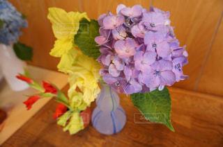 紫陽花の写真・画像素材[2140289]