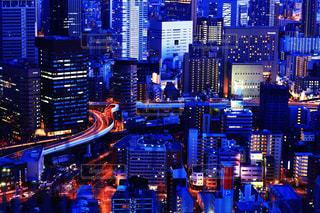 都会の夜の写真・画像素材[1154422]