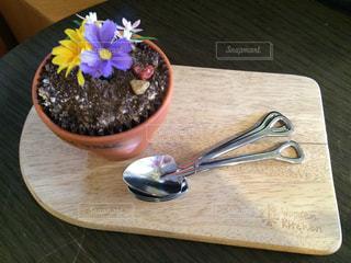 植木鉢のようなデザート - No.1154755