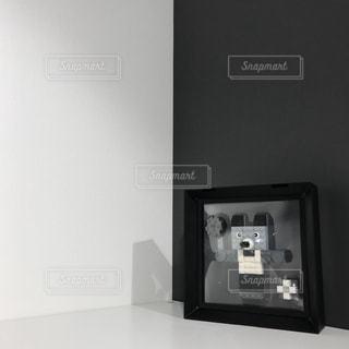 白黒くまさんの写真・画像素材[1157413]