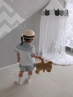 セーラー服を着ている人の写真・画像素材[1199002]