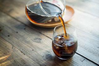 アイスコーヒーの写真・画像素材[1156927]