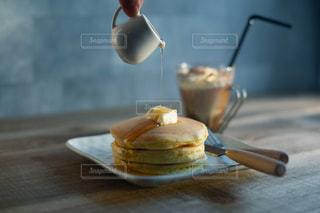 ホットケーキの写真・画像素材[1222427]