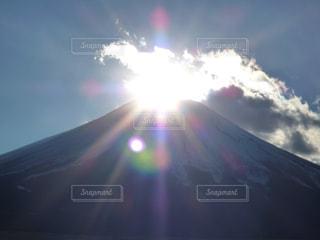 ダイヤモンド富士の写真・画像素材[1209619]