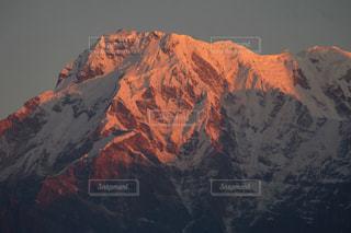 背景の山と渓谷の写真・画像素材[1158435]