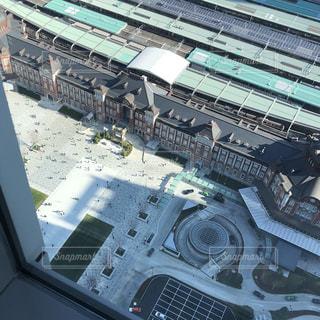 東京駅丸の内側の眺めの写真・画像素材[1193981]