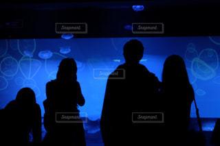 水族館にいる人々の写真・画像素材[1856735]