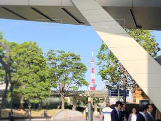 昼間の東京タワーの写真・画像素材[2247612]
