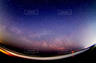 九十九里浜の星空の写真・画像素材[1158449]
