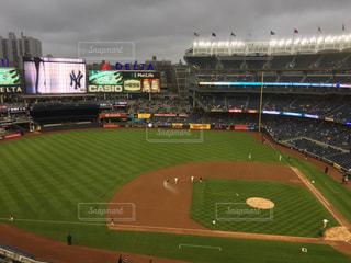 ニューヨーク ヤンキースタジアムの写真・画像素材[1160405]