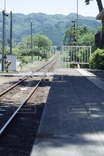 駅のホームの写真・画像素材[1198911]