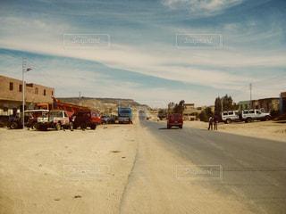 砂漠の村からの写真・画像素材[1164460]
