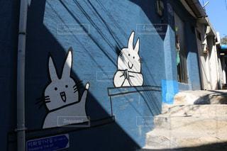at  Seoul (梨花洞壁画村)の写真・画像素材[1158412]