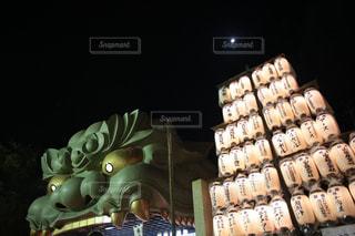 難波神社にての写真・画像素材[1162181]