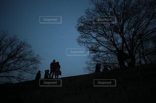 人影の写真・画像素材[1162228]