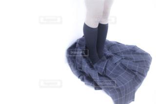 青と白の靴の写真・画像素材[1162406]