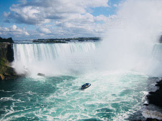 ナイアガラの滝の写真・画像素材[1160006]
