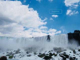 ナイアガラの滝の写真・画像素材[1160244]