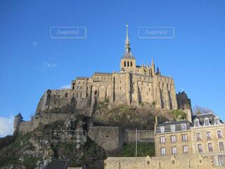 モン・サン・ミシェルの写真・画像素材[1160468]