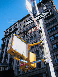 ブロードウェイの標識の写真・画像素材[1160708]