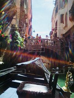 ゴンドラから見る街の写真・画像素材[1161506]
