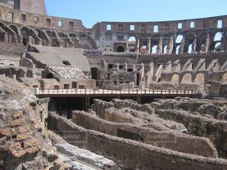 古代ローマ遺跡の写真・画像素材[1161561]