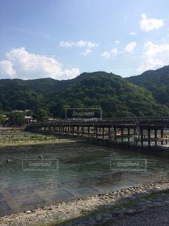 夏の嵐山の写真・画像素材[1162798]