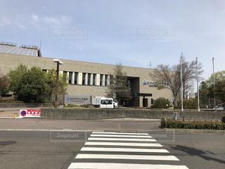 仙台市体育館(カメイアリーナ)の外観の写真・画像素材[1159887]