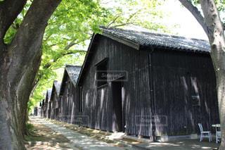 山居倉庫を撮影の写真・画像素材[1204059]