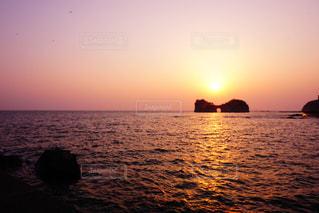 夕焼けの写真・画像素材[2005326]