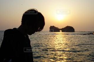 夕日の写真・画像素材[2005327]