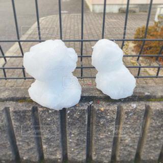 雪だるま⛄の写真・画像素材[4062590]