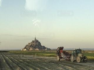 Mont-Saint-Michelの写真・画像素材[1348699]