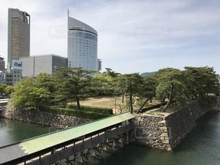 玉藻公園からの景色の写真・画像素材[1164567]