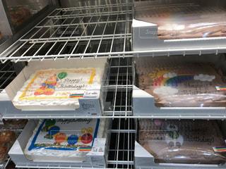 冷蔵庫は食べ物でいっぱい - No.1162292