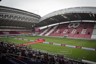 Andrés Iniesta in ノエビアスタジアム神戸の写真・画像素材[1204716]
