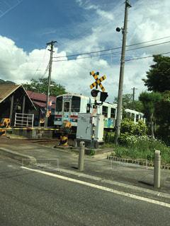 田舎の鉄道の写真・画像素材[1164609]