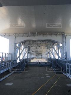 明石と徳島を結ぶ橋の内部の写真・画像素材[1166894]