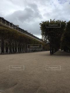 パリの庭園の写真・画像素材[1166522]