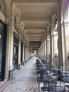 パリの庭園の写真・画像素材[1166523]